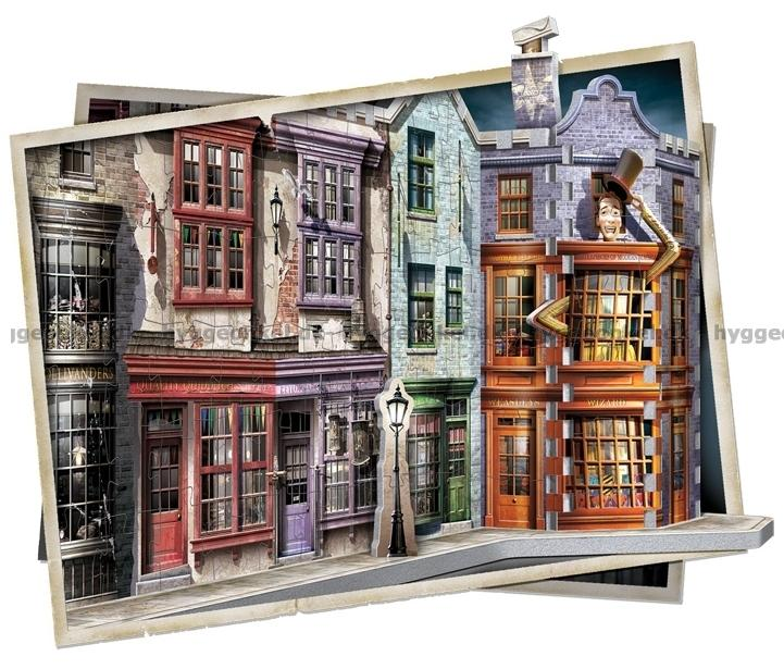 harry potter diagon alley board game instructions
