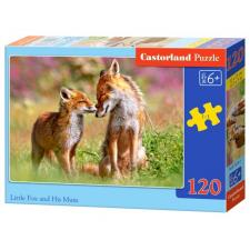 Little Fox and his mum, 120 pieces