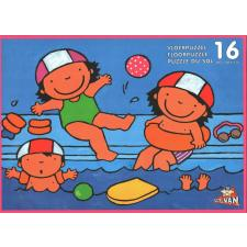 In the Swimmingpool - Floor Puzzle, 16 pieces