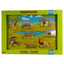 Wild animals, 8 pieces