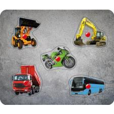 Vehicles, 5 pieces