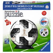 3D Ball: 2018 FIFA World Cup Russia, 72 pieces