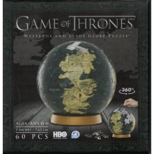 3D Globe: Game of Thrones - Westeros and Essos, 60 pieces