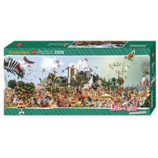 Anderlon: At the Beach - Panorama, 2000 pieces