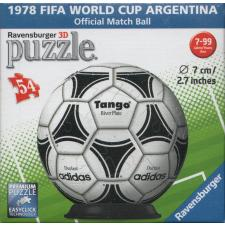 3D Ball: 1978 FIFA World Cup Argentina, 54 pieces