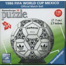 3D Ball: 1986 FIFA World Cup Mexico, 54 pieces