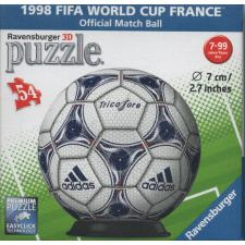 3D Ball: 1998 FIFA World Cup France, 54 pieces