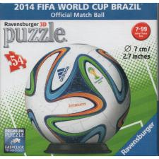 3D Ball: 2014 FIFA World Cup Brasil, 54 pieces