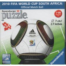 3D Ball: 2010 FIFA World Cup South Africa, 54 pieces