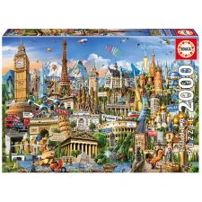 Chesterman: Europe Landmarks, 2000 pieces