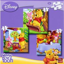 Winnie the Pooh, 3 in 1, 4 pieces