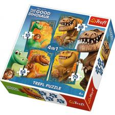 Disney: The Good Dinosaur, 4 in 1, 35 pieces