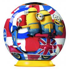 3D: Minions - England, 54 pieces