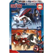 Captain America: Civil War, 2x100 pieces