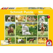 Baby Farm Animals, 100 pieces