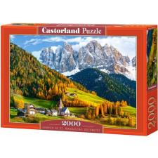 Chruch of St. Magdalena, Dolomites - Italy, 2000 pieces