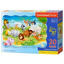 African Animals - Shaped, 20 pieces