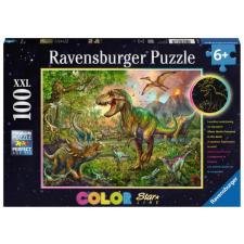 Dinosaur: King - Glow in the dark, 100 pieces