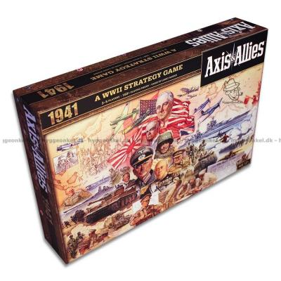 Picture of Axis & Allies 1941 from up above