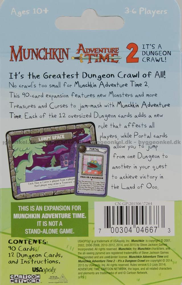 Buy Munchkin Adventure Time 2 Its A Dungeon Crawl Today