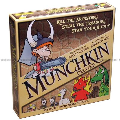 Picture of Munchkin: Deluxe from up above