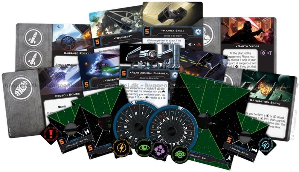 Camera Cachee Star Wars : Star wars x wing 2nd ed. → køb det billigt i dag!