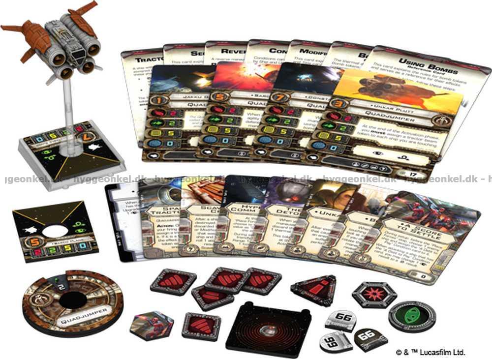 Camera Cachee Star Wars : Star wars: x wing miniatures game quadjumper → køb det billigt i